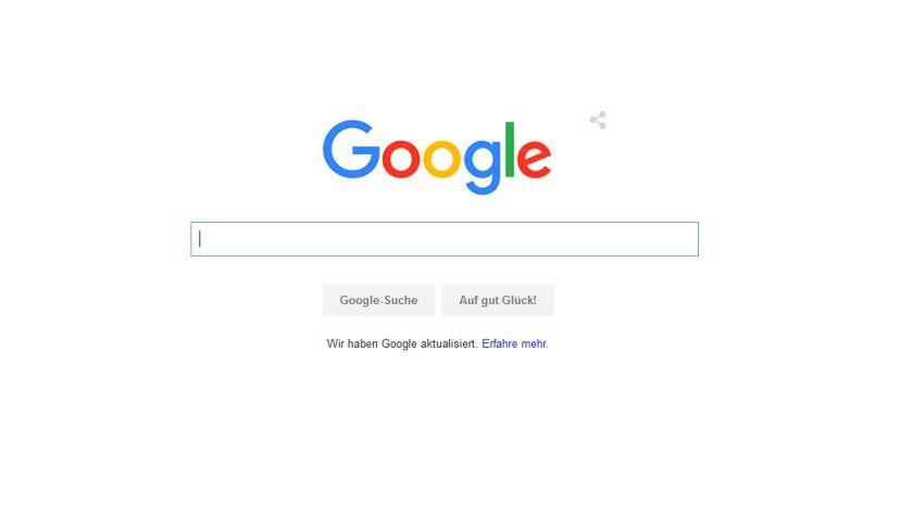 Das neue Google Logo