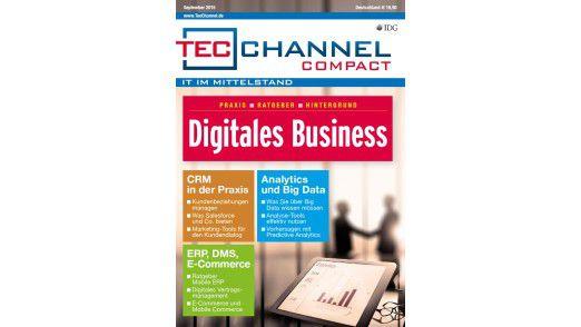 160 Seiten Praxis, Ratgeber und Hintergrund bietet Ihnen das TecChannel Compact Digitales Business.
