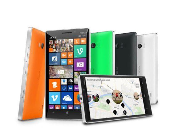 Microsoft-Flaggschiff-Smartphone Lumia 930 verfügbar