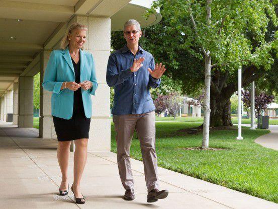 IBM soll Apple neue Enterprise-Tablet-Kunden bringen.