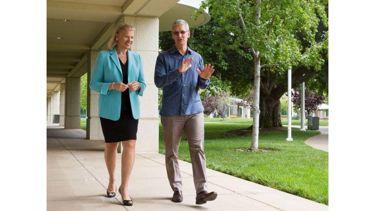 Die Zeiten, die Personen und die Unternehmen haben sich geändert. IBM-CEO Ginni Rometty im Gespräch.
