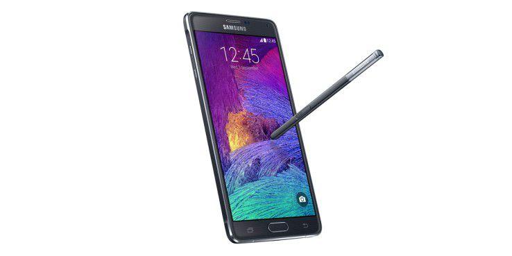 Das Samsung Galaxy Note 4 kommt mit verbesserten S-Pen-Funktionen.