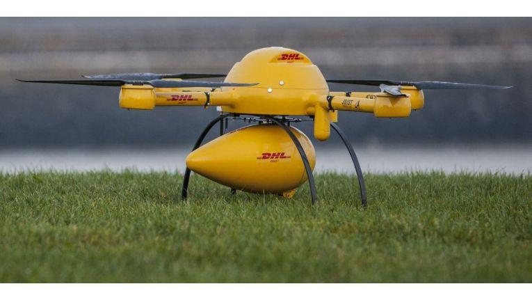 DHL Paketkopter 2.0: Post lässt Pakete per Drohne zustellen