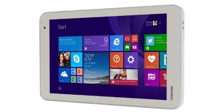 Preistipp bei kleinen Windows-Tablets: Toshiba Encore 2 mit 8-Zoll-Display