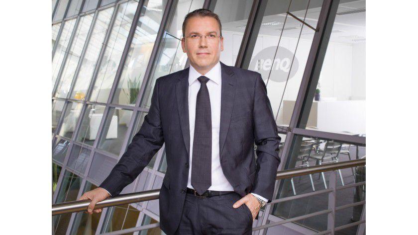 Thomas Müller, DACH-Chef von BenQ