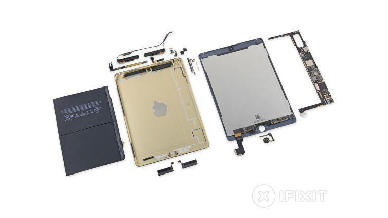 Das zerlegte iPad Air 2 offenbart einige Geheimnisse.