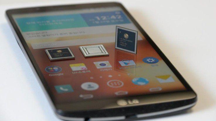 Das LG G3 Screen mit 5,9-Zoll-Display und hauseigenen Nuclun-Chipsatz.