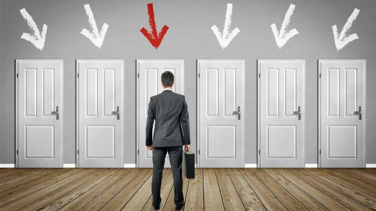 Dieses Unternehmen? Oder doch lieber diese Firma? IT-Spezialisten haben bei der Suche nach einer neuen Stelle oft die Qual der Wahl.