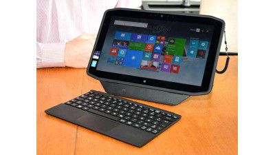 Ruggedized Slate mit Win8.1 und Core i7: Test: Motion R12 Tablet PC - Foto: Harald Karcher
