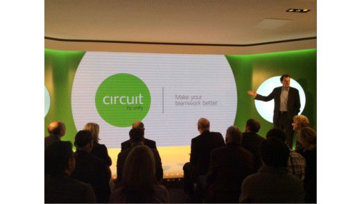 Der Circuit-Launch von Unify vor knapp einem Jahr