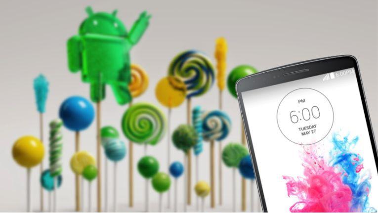 LGs aktuelles Flaggschiff 'G3' läuft mittlerweile mit Android 5.0 'Lollipop'