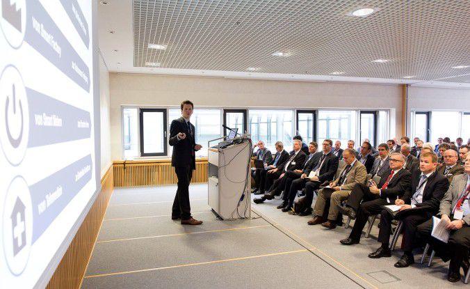Über 300 Besucher diskutierten auf der IT2Industry über Industrie 4.0 und die Auswirkungen auf ihr Business.