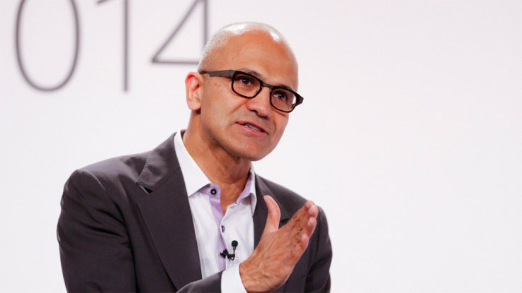 Microsoft-CEO Satya Nadella in Berlin