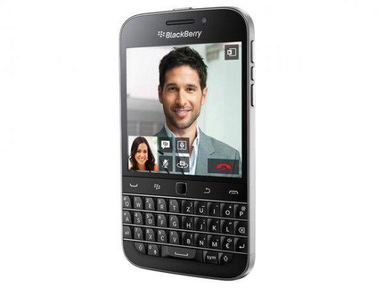 Mit dem 'Classic' geht Blackberry ein wenig 'back to the roots'.