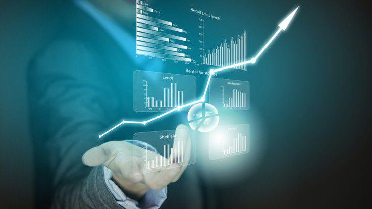 Gesammelte Daten sollten für den jeweiligen Adressaten möglichst einfach visuell aufbereitet werden.