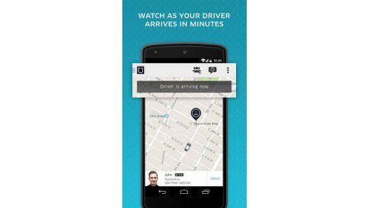 Ubers Smartphone-App zur Vermittlung von Mitfahrten in Privatautos hat dem Unternehmen nicht nur viel Aufmerksamkeit, sondern auch ein Menge Ärger eingebracht.