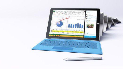 Gute Frage: Zählt man ein Surface Pro 3 nun als PC oder als Tablet?