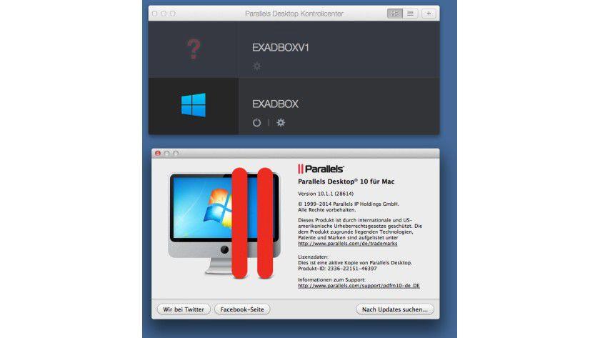 Parallels 10 Desktop für den Mac: Mit dieser Software können Anwender Windows-, Linux- und OS X-Systeme in einer virtuellen Maschine auf dem Mac betreiben.