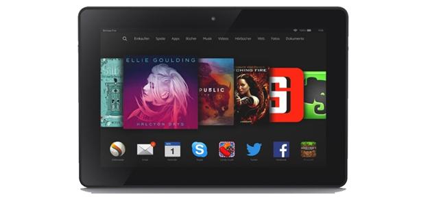 Tablet: Amazon Fire HDX 8.9 im Test - Foto: Amazon
