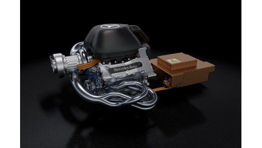 Allein die Hybrid-Motoren liefern 30 Prozent mehr Daten.