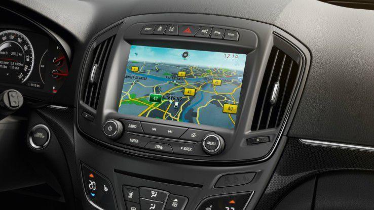 Heutzutage ist ein Fahrzeug-Navigationssystem zumeist Teil eines vernetzten Infotainment-Systems.