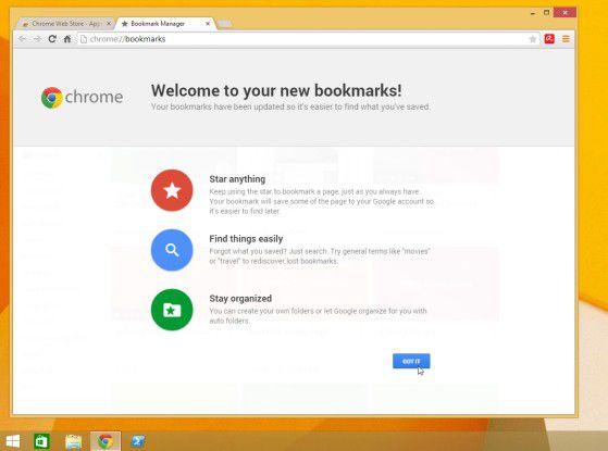 Lesezeichen mal ganz anders: Der Google Bookmark Manager für Chrome.