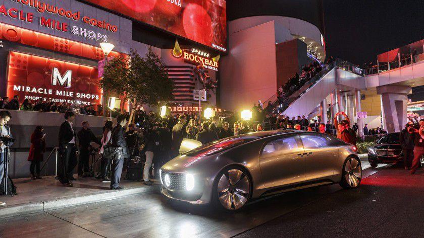 Autonome, selbstfahrende Autos waren ein Highlight der diesjährigen CES.