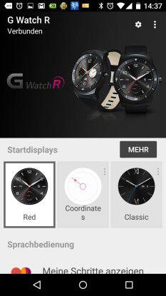 Nach den Erhebungen von Canalys ist Android Wear bei den Kunden eher unbeliebt und beim Formfaktor punkten runde Uhren.