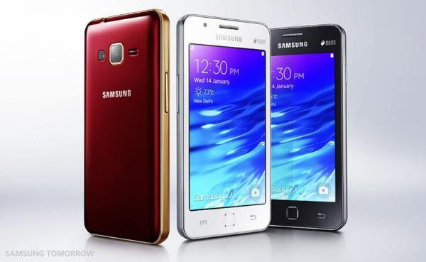 Das Samsung Z1 mit Tizen-Betriebssystem