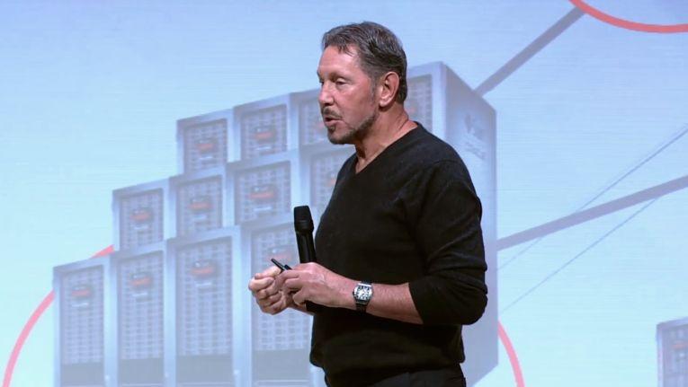 Oracle-Gründer und -Chairman Larry Ellison