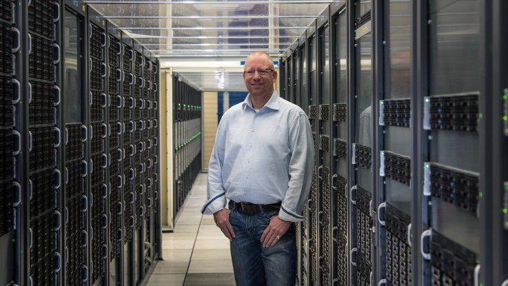 Stefan Lüders ist seit sechs Jahren Computer Security Officer des CERN.