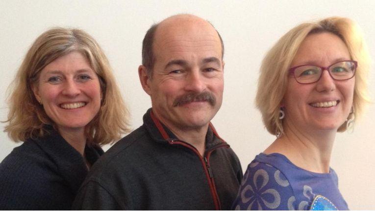Das CW-Karriereteam freut sich auf Sie: Karen Funk, Hans Königes und Alexandra Mesmer (v.l.).
