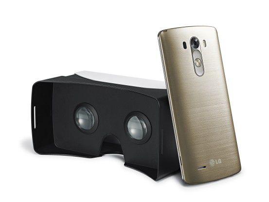 Im Rahmen einer Promotion-Aktion gibt es das LG G3 mit VR-Brille.