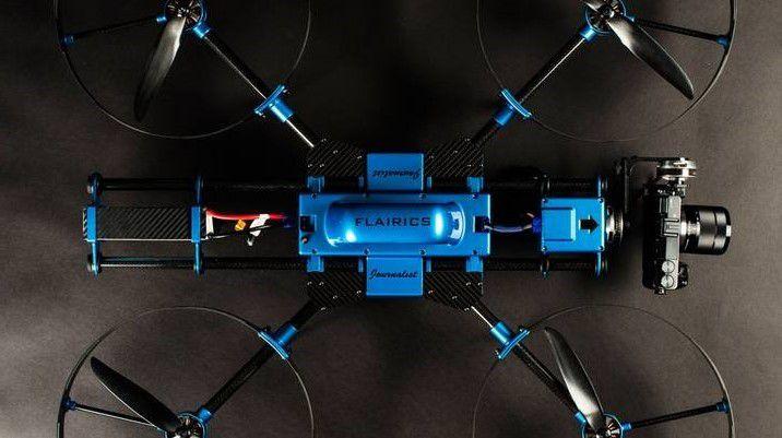 Spectair Journalist: Professioneller Flugroboter für Luftaufnahmen.
