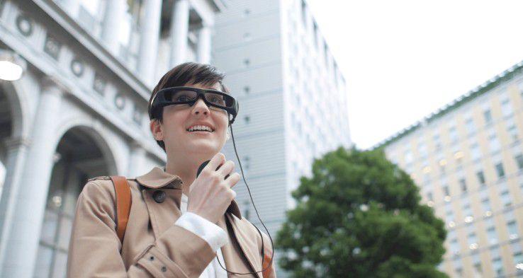 Das öffentliche Testprogramm für die Sony SmartEyeglass wurde gestartet.