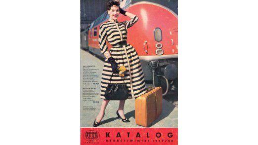 Vor fast fünfzig Jahren war Otto im Kataloggeschäft dick dabei - hier die Ausgabe 1957/58.