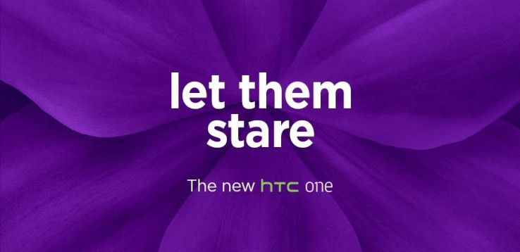 "Mit Slogans wie ""Utopia in progress"", ""One Life"" und nun ""Let them stare"" bereiten die Taiwaner den Launch des HTC One (M9) vor."
