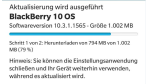 Blackberry Blend, Amazon AppStore...: Blackberry OS 10.3.1 bringt neue Features