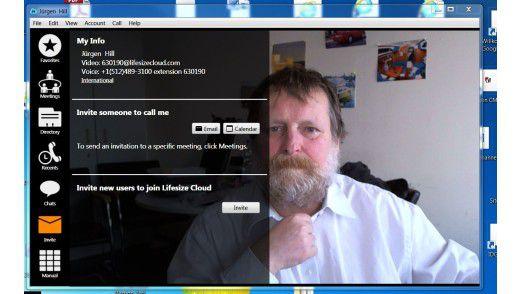 Eine einfach zu bedienende Videokonferenzlösung aus der Cloud offeriert Lifesize.