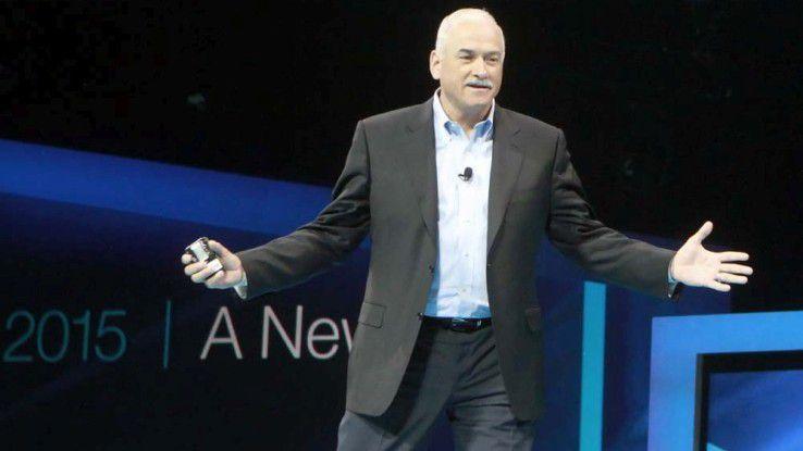 IBMs neuer Cloud-Chef Robert LeBlanc stellte im Rahmen seiner Interconnect-Keynote die Cloud-Strategie des Konzerns vor.