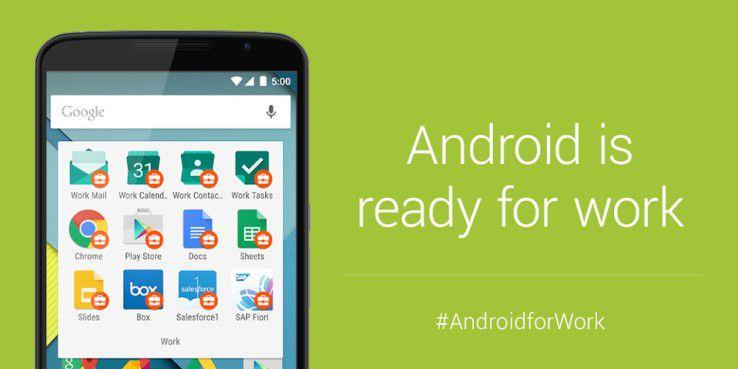 Das Konzept Android for Work hat Sicherheitslücken.