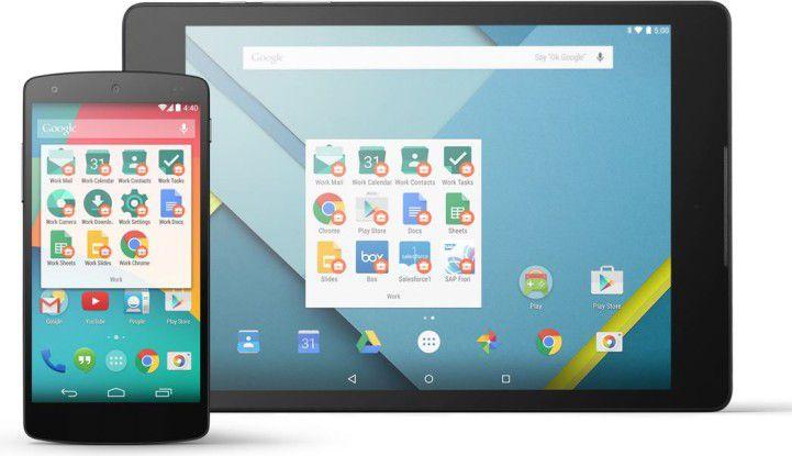 BES12 unterstützt nun auhc Android for Work.