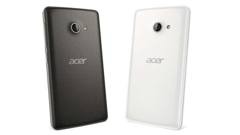 Die Rückseite des Acer M220
