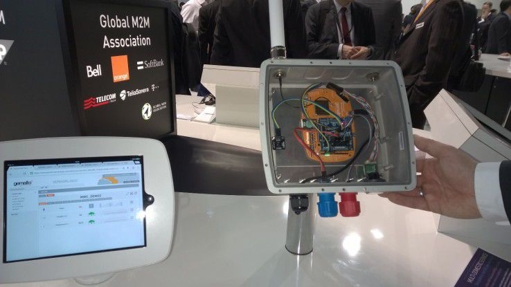 Ein anderes Beispiel für eine IoT-Anwendung ist ein automatischer Waldbrandmelder.