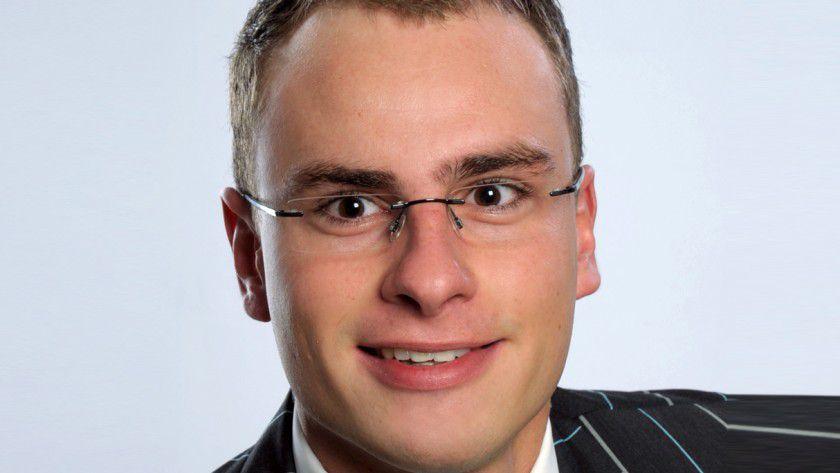 Christian Kleinmichel von HP leitet Zehn-Millionen-Euro-Projekte.
