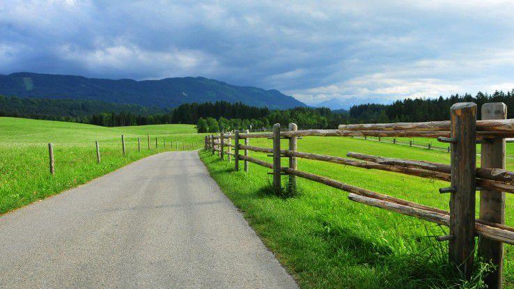 """Unter dem Motto """"Smart Rural Areas will Fraunhofer das Leben auf dem Land wieder attraktiver machen"""""""