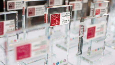 Great Place to Work: Die besten Arbeitgeber in der ITK 2015 - Foto: Great Place to Work