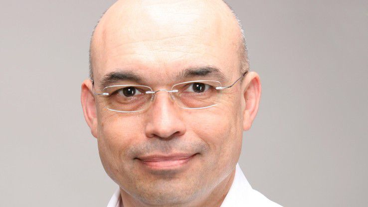 """Marcell Amann, Personalleiter Vector Informatik: """"Unsere Neuzugänge fühlen sich von Anfang an wohl, das kann man nicht verordnen."""""""