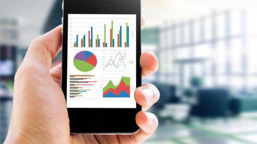 Der mobile Zugriff auf Geschäftszahlen gehört heute bereits für viele Manager zum Alltag.