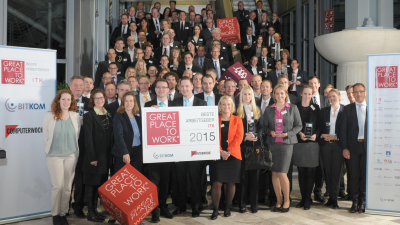 Great Place to Work: Beste ITK-Arbeitgeber 2016 gesucht - Foto: Great Place to Work